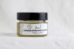 Préparation Miel Liqueur d'Orange Citron Marcel & Marie