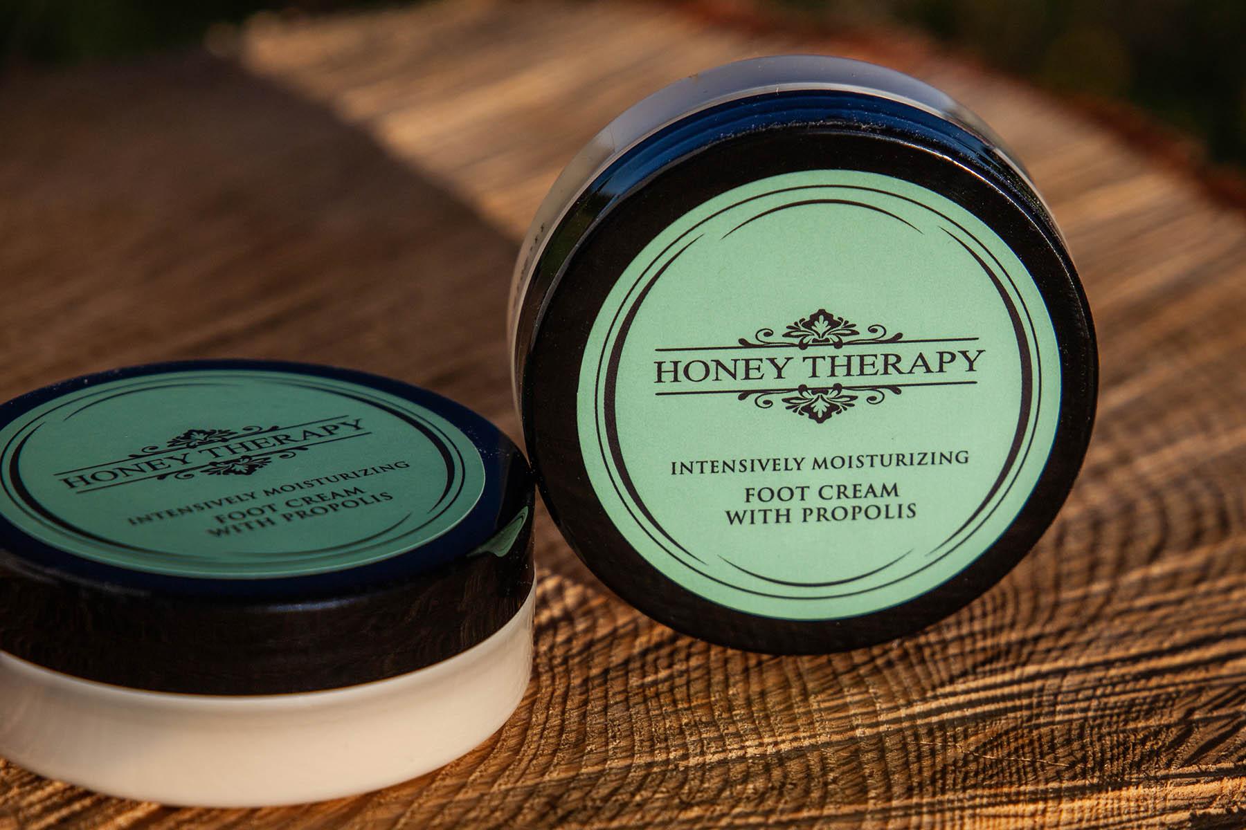 Crème pieds Honey Therapy