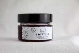 Préparation Miel Myrtille Marcel & Marie